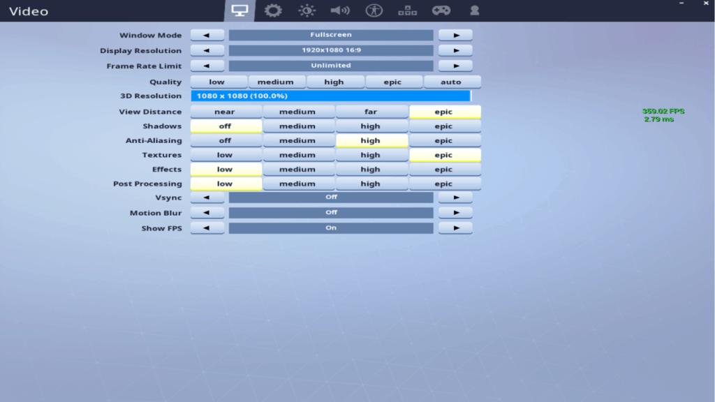 Mongraal Fortnite Settings Keybinds Amp Setup