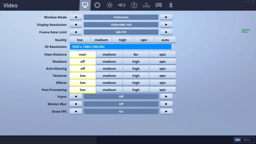 Symfuhny Fortnite Settings, Keybinds & Setup