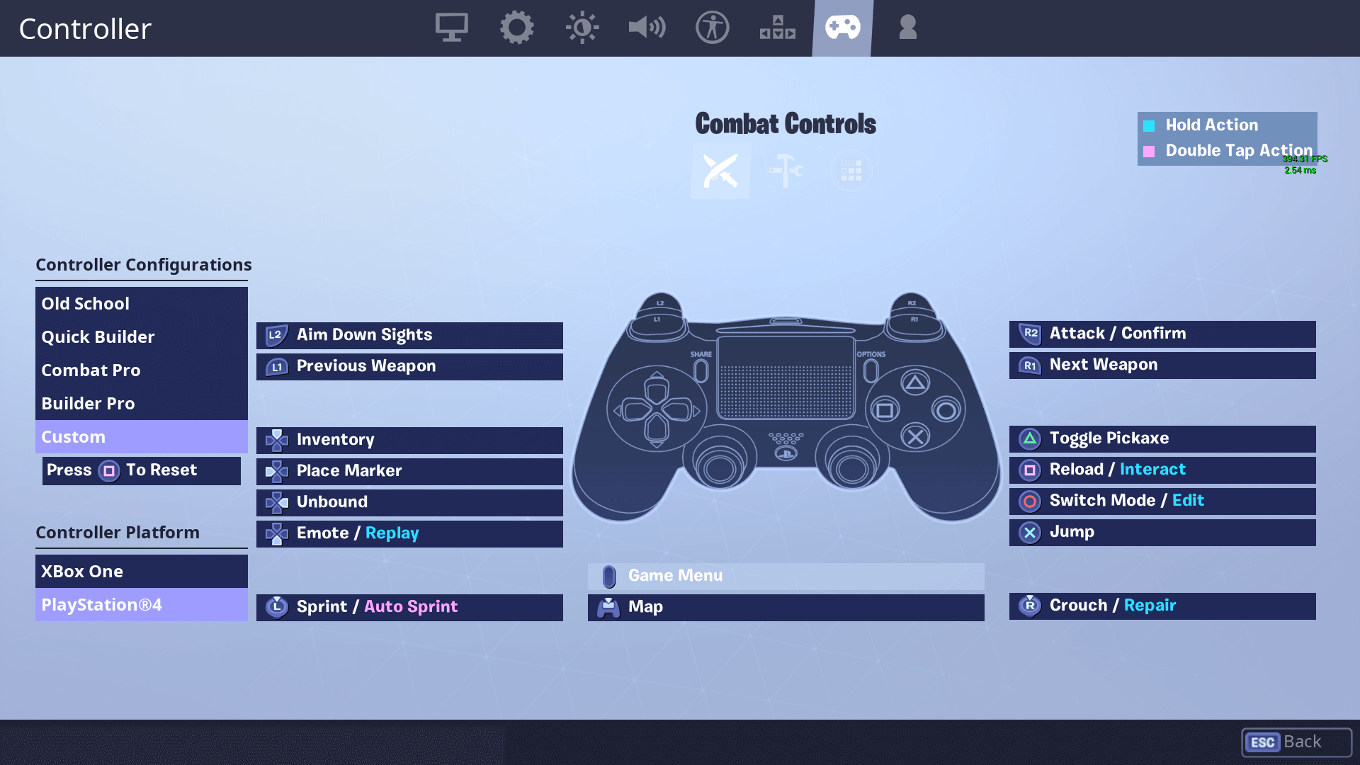 Nickmercs Fortnite Settings, Controller Binds & Setup