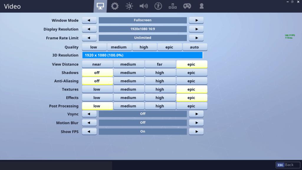 Typical Gamer Fortnite Settings, Keybinds & Setup