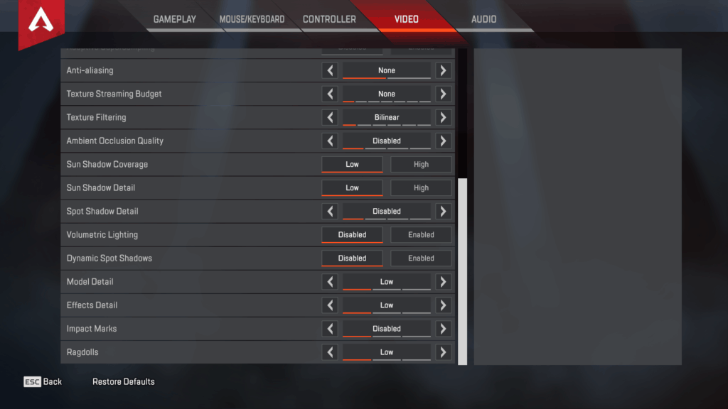 Shroud Apex Legends Settings, Keybinds & Setup