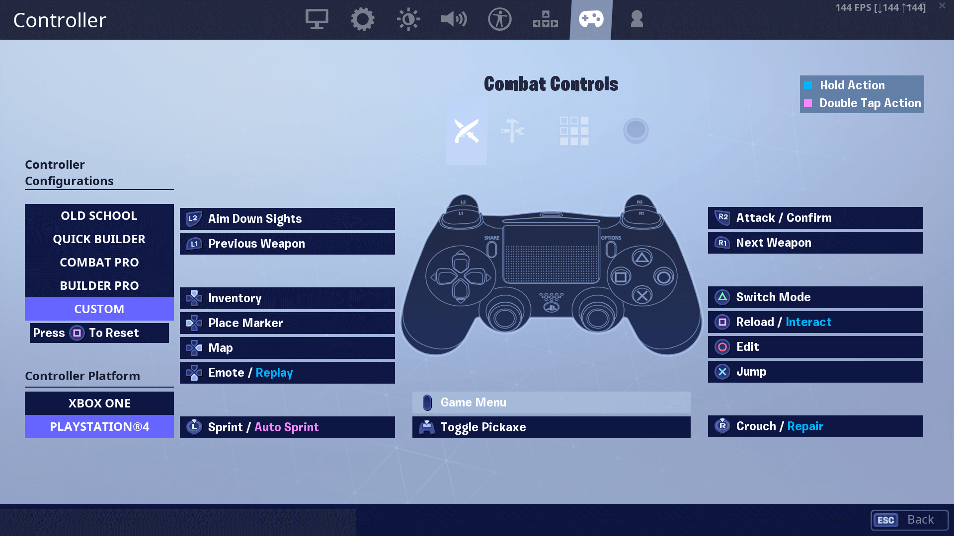 Assault Fortnite Settings, Controller Binds & Setup